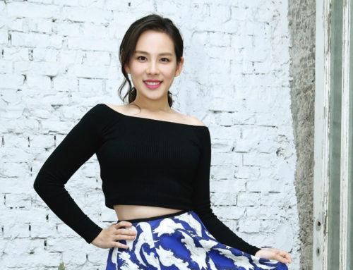 王詩安 Diana Wang 為新專輯裸上身 用一條圍巾打造封面照