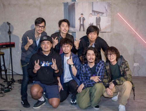 台灣搖滾隊長四分衛單曲媒體搶聽會 「Youtuber界五月天」出席力挺